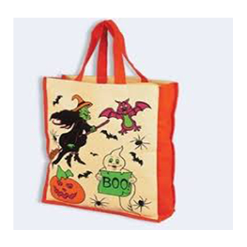 Printed Jute Bag 3 Creative Craft